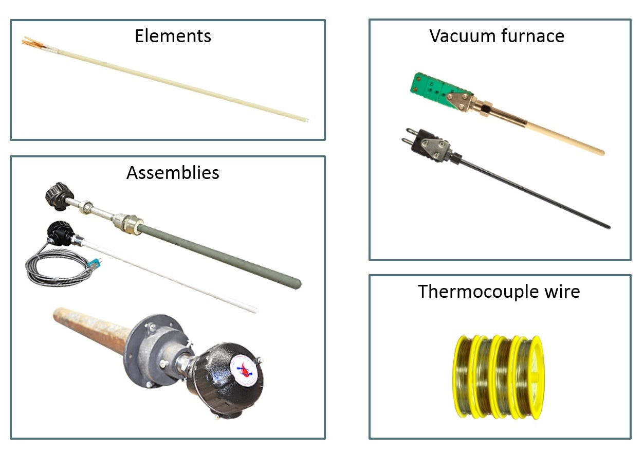 Noble Metal High Performance Thermocouples