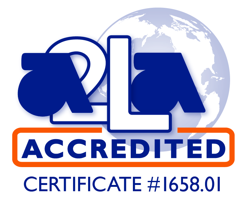 A2LA accredited symbol.1658.01